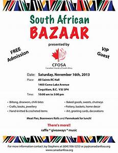 Canadian Friends of South Africa (CFOSA) - Events