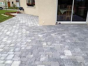 Pavé De Bois : terrasse pave et bois 14910 ~ Premium-room.com Idées de Décoration