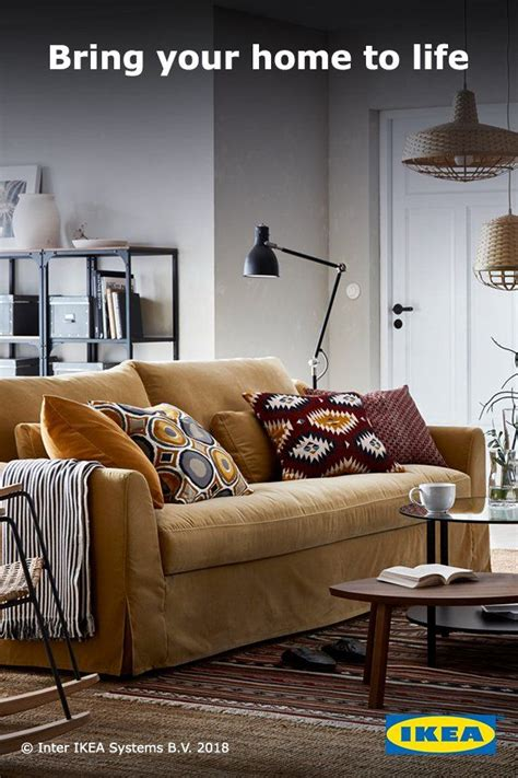 Colorful Living Room Escape by This Summer Create A Comforting Escape With Colorful Ikea
