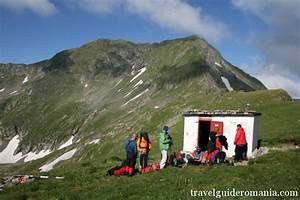 Mountain Refuge In Fagaras Mountains Near Moldoveanu Peak