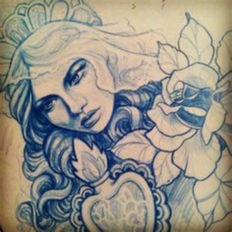 pretty ladies images tattoos sketches art