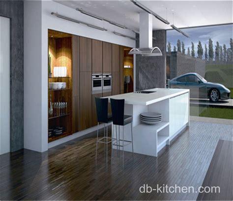 white gloss acrylic kitchen cabinets high gloss white acrylic and uv wood grain modern kitchen