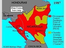 Map War in Nicaragua