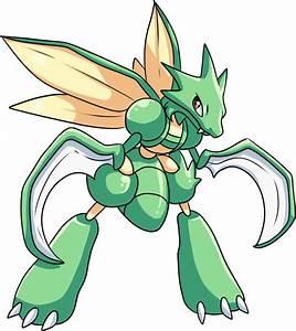 Scyther Pokemon Pokedex 123