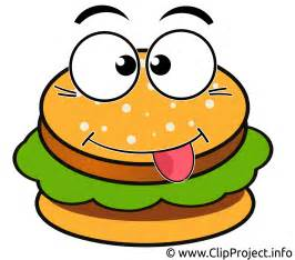 Cartoon Hamburger Clip Art