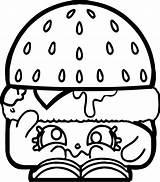 Coloring Hamburger Pages Crying Shopkins Printable Sad Lovely Cartoon Sheet Kawaii Games Donut Coloringgames Wecoloringpage Collections Getdrawings Colorings Template sketch template
