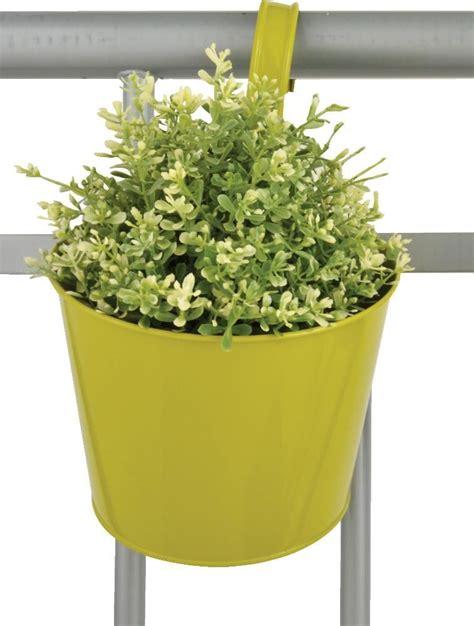 pot de fleur balcon 224 suspendre vert