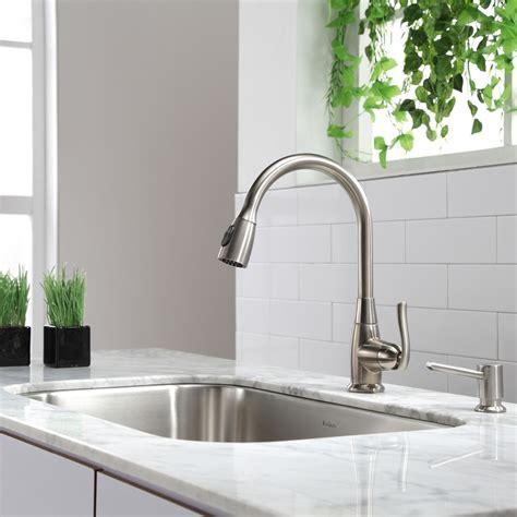 kraus kbu kitchen sink stainless steel kitchen sinks