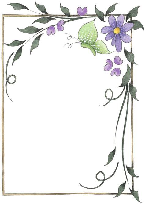 images  frames floral  pinterest