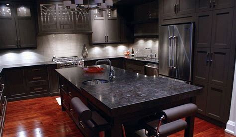 Antique Brown Granite In The Kitchen?? Love The Grey