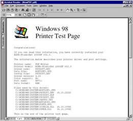Printer Test Page PDF