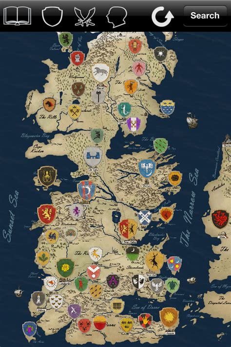 map   game  thrones world quora