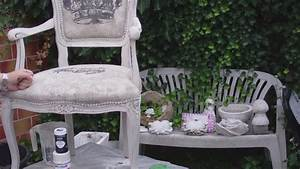 Shabby Chic Stuhl : aus alt mach neu einen alten stuhl in shabby chic umgestalten youtube ~ Eleganceandgraceweddings.com Haus und Dekorationen