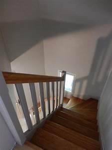 Peindre Escalier En Bois : attractive peindre rampe escalier bois 26 peindre ~ Dailycaller-alerts.com Idées de Décoration
