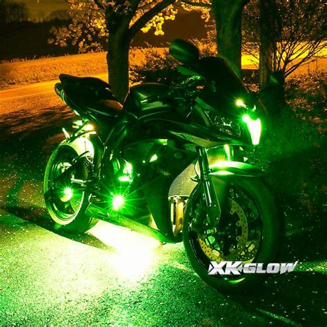 underglow lights for motorcycle premium 10 10 pod ios android app wifi led