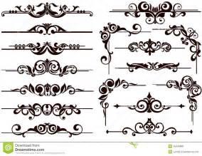 65 decorative corner border clipart