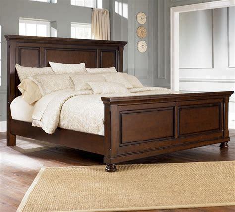Millennium Porter Bedroom Set Furniture Porter King Panel Bed V Schultz