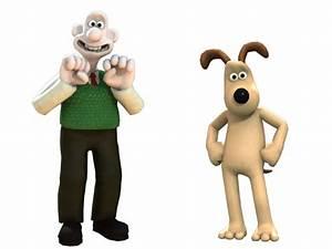 Imagenes de dibujos animados: Wallace y Gromit
