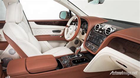 Gambar Mobil Bentley Bentayga by Interior Bentley Bentayga Autonetmagz Review Mobil