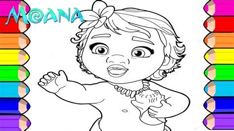 Para Colorir Princesas Moana