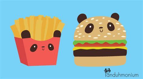 panda burger burger  fries  panduhmonium  deviantart