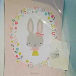 mes coups de coeur deco chez le lapin gris selection With affiche chambre bébé avec code promo pour livraison fleurs