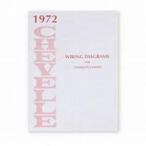 Chevelle Literature  Chevelle Wiring Diagram Manual  1972
