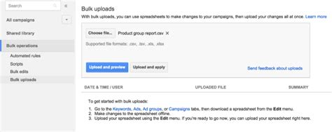 adwords tracking template adwords adds bulk uploads for shopping caigns search engine land