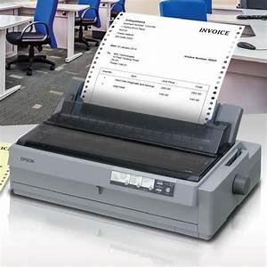 epson lq 2190 dot matrix printer 24 pins 136 column With epson invoice printer