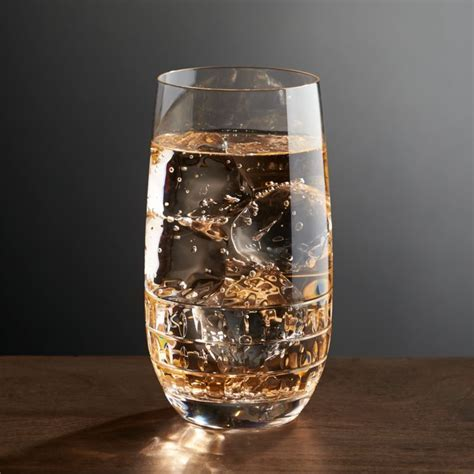 Ana Highball Glass   Reviews   Crate and Barrel