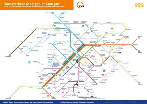 stuttgart on map stuttgart night s bahn map
