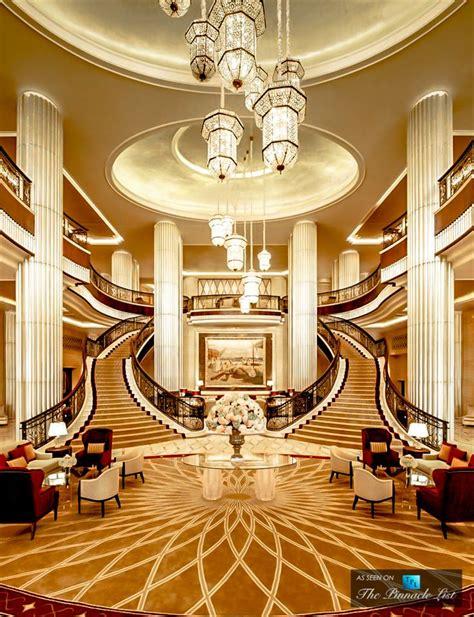 st regis luxury hotel abu dhabi uae grand lobby