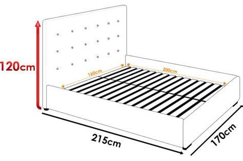 lit coffre avec t 234 te de lit capitonn 233 e effet cuir blanc