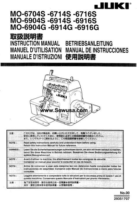 juki mo 352 sewing manual