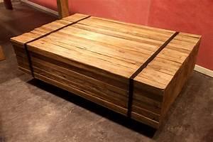 Wohnzimmertische Aus Holz Ihr Traumhaus Ideen