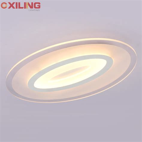 new ultra thin modern led ceiling lights creative arc