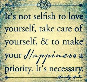 Take Care Of Yourself First Quotes