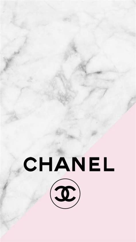 chanel background chanel logo pink marble iphone background backgrounds