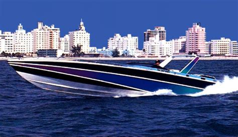 Boat Paint Miami by 80 S Paintjobs Offshoreonly
