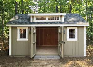 best 25 amish garages ideas on pinterest amish sheds With amish sheds built on site