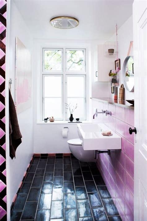 pink  black bathroom tile ideas  pictures