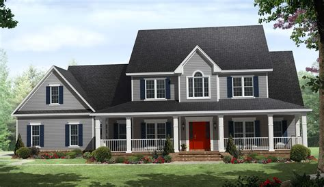 country home plans one story one story country house plans with wrap around porch wrap