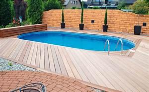 Pool Mit Holz : pool zum einbauen von hornbach ~ Orissabook.com Haus und Dekorationen