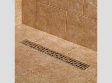 Effendi Linear Shower Drain Bathroom