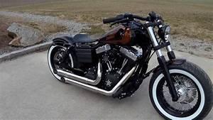 Bobber Harley Davidson : harley davidson dyna streed bob bobber youtube ~ Medecine-chirurgie-esthetiques.com Avis de Voitures