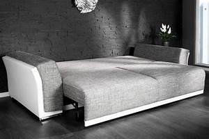 Canapé Habitat Convertible : photos canap design convertible ~ Teatrodelosmanantiales.com Idées de Décoration
