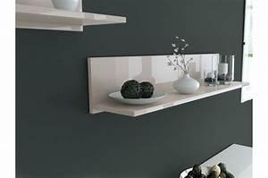 Petite Tablette Murale : tablette murale 8 coloris cbc meubles ~ Teatrodelosmanantiales.com Idées de Décoration
