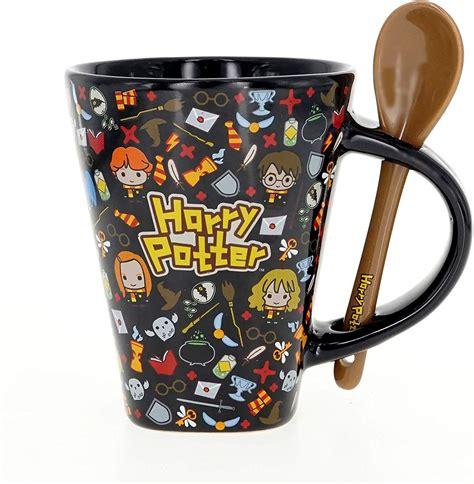 Both item are new in the box. Mug - Harry Potter - Kawaii w/Spoon (Black Color) Ceramic ...