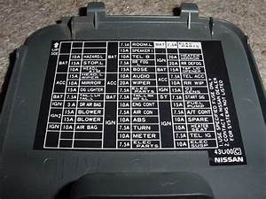 2014 Nissan Maxima Fuse Box Diagram
