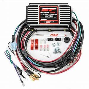 Msd 5520 Ignition Box Msd Street Fire Digital Cd With Rev